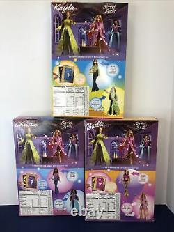 12 Mattel Barbie Dolls 3 Set Secret Spells Kayla Christie Barbie Magic Witches