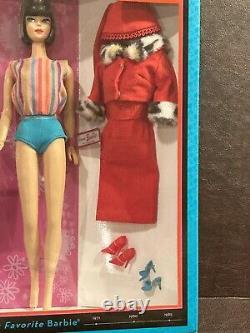 1965 My Favorite Barbie Doll Brunette American Girl Mattel T2147 Vintage Repro