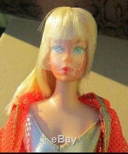 1969 Mod Blonde Dramatic New Livingbarbie1116osswrist Tagmint Doll+outfit