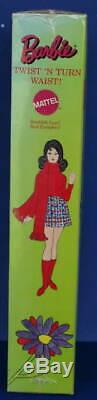 1971 Vintage Twist n Turn Barbie doll MIB sm cello split Marlo flip Vintage TNT