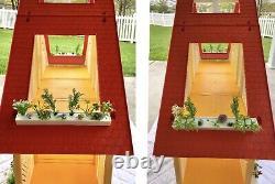 1978 Yellow Barbie Dream House A Frame Furniture & Accessories Mattel 1970s Vtg