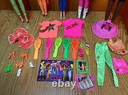 1980's Barbie Lot The Rockers