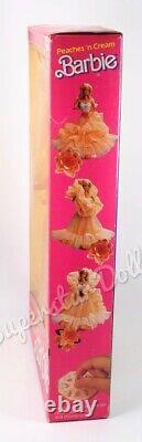 1985 Peaches'n Cream Barbie Doll NRFB MINT
