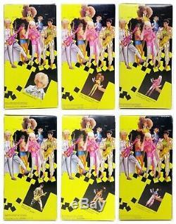 1986 Barbie And The Rockers Ken Diva Barbie Derek Dee Dee & Dana Lot Of 6 Dolls