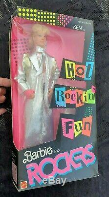 1986 Barbie and the Rockers complete set of 6 dolls NRFB