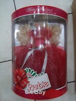 1988 Happy Holiday Barbie LIMITED ED RARE WithShipper Mint