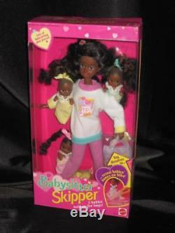 1994 African American Skipper AA BABYSITTER Baby Sitting 3 Babies NRFB 12072