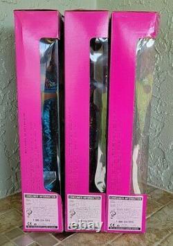 1995 Mattel Jewel Hair Mermaid Barbie, Midge, & Teresa Dolls NEW Lot of 3