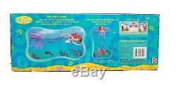 1997 Mattel Disney Little Mermaid Princess Ariel Prince Eric & Max Doll Set NEW