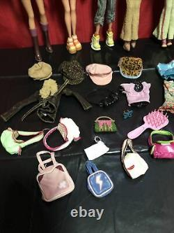 1999 Vintage My Scene Barbie Doll Lot Clothes Accessories by Mattel