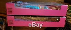2 New In Box Matel Jewel Hair Mermaid Barbie And Midge