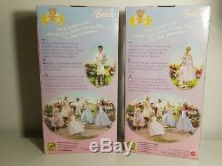 2004 Fantasy Tales Tea Party dolls Barbie as Rapunzel & Ken G6278, G6281