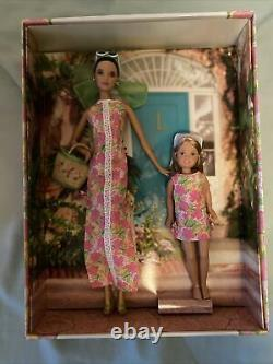 2005 Silver Label Lilly Pulitzer Barbie and Stacie Doll