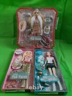 2006 Barbie My Scene Fab Faces Kennedy Doll and dress lot