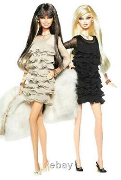 2008 Juicy Couture Beverly Hills G & P Barbie Doll Giftset Gold Label MINT NRFB