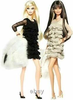 2008 Juicy Couture Beverly Hills G & P Barbie Doll Giftset Gold Label MINT REAL