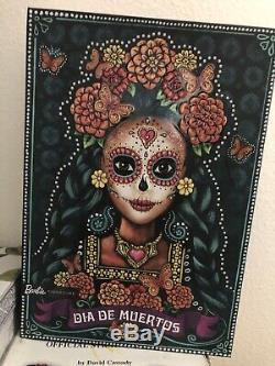 2019 Mattel Dia De Los Muertos Barbie Mint