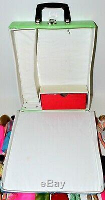 22 Vintage Topper Dawn/Clone Doll Clothes Purses Shoes. Barbie Doll Case Lot #2