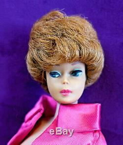 3 Vintage Barbie Bubblecut Lot White Ginger Fudge Brunette Titian Redhead BIN