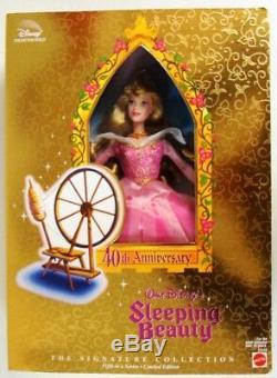 40th Anniversary Walt Disney's Sleeping Beauty Doll (Signature Collection)NEW