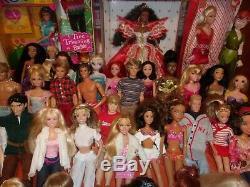 50 Barbie/ken Dolls/celebrities/disney/christmas/rockers/wheelchair/hercules++++