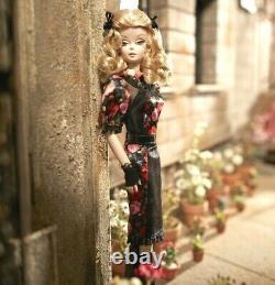 Amazing Fiorella Silkstone Gold Label Doll Is Mint Nrfb- Box Almost Mint