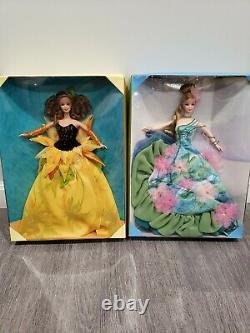 Artist Series Barbie Dolls Water Lily Monet & Sunflower Van Gogh Set of 2 NIB