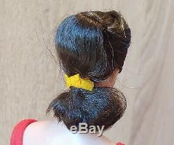 BARBIE Vintage Swirl Ponytail Brunette (1964-65) Wrist TagOriginal BoxMint MIB