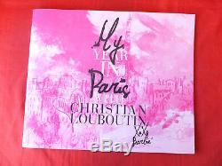 Barbie 2009 Christian Louboutin Signature Cat Burglar Gold Label 1st in Seres LE