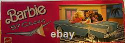 Barbie 57 Chevy Blue Convertible Car New In Factory Sealed Box