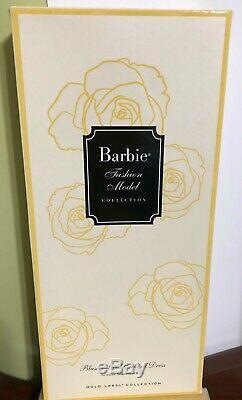 Barbie Blush And Gold Silkstone Doll Mint In Mint Box Still In Tissue