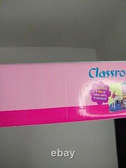 Barbie Classroom Playset 67427 NRFB 2002 Mattel Preschool Make Learning Fun