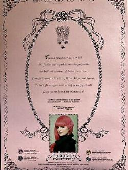 Barbie Collector Tarina Tarantino Pink Hair Gold Label 2007 NIB! Mint