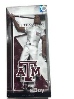 Barbie Collector Texas A&M University African American Ken Doll Cheerleader