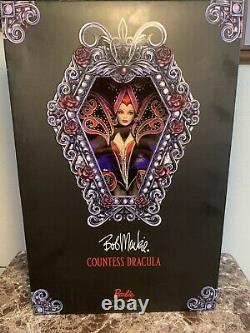 Barbie Countess Dracula By Bob Mackie MINT NRFB Only 3200 Worldwide Very Rare