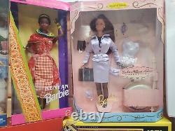 Barbie Dolls Lot Of 12 Mint In Box