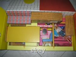 Barbie Dream House 1962 Repro Near Mint Condition Plus Teen Barbie Doll