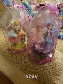 Barbie Fairytopia Huge Lot NEW Mermaids, Fairies, Merfairies, Petal Pixies 2003+