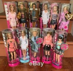 Barbie Fashion Fever Dolls (11) in this lot With Tags Mint
