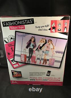 Barbie Fashionistas World Tour Sassy Swappinstylesmint & Sealedgorgeous