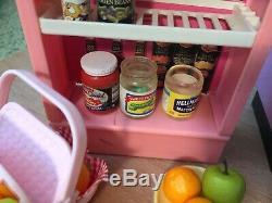 Barbie Grocery Store Market Tyco Kitchen Littles LOT Slushie Machine 1993-1996