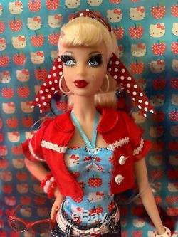 Barbie HELLO KITTY SANRIO Pink Label 2008 RARE NRFB MINT