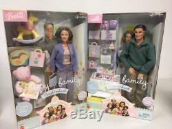 Barbie Happy Family Grandma & Grandpa Doll Lot Nrfb