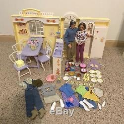 Barbie Happy Family Smart Home, Grandparents Home, Van, Grocery Store, Dr Barbie