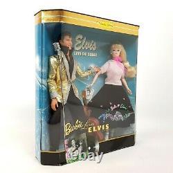 Barbie Loves Elvis Collector Edition Set Barbie Ken Gift Set Mattel 17450 NRFB