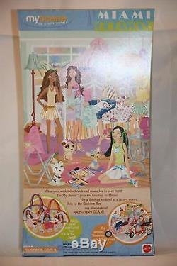 Barbie My SCENE Miami Getaway BARBIE 2004 Fashion Doll NIB NRFB For OOAK / Play