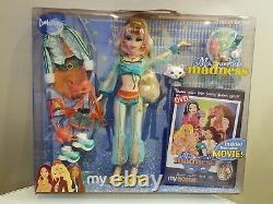 Barbie My Scene Masquerade Madness Dream Genie Delancey Doll withDVD MINT