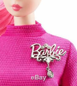 Barbie Proudly Pink Silkstone Doll -60th Anniversary Barbie Mint