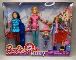Barbie Sisters Winter Getaway Pink Passport Barbie, Skipper, Stacie, Chelsea
