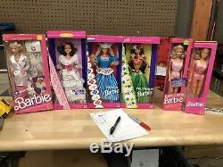 Barbie doll Mixed Lot. Majority Original Packaging. 202 Items Total